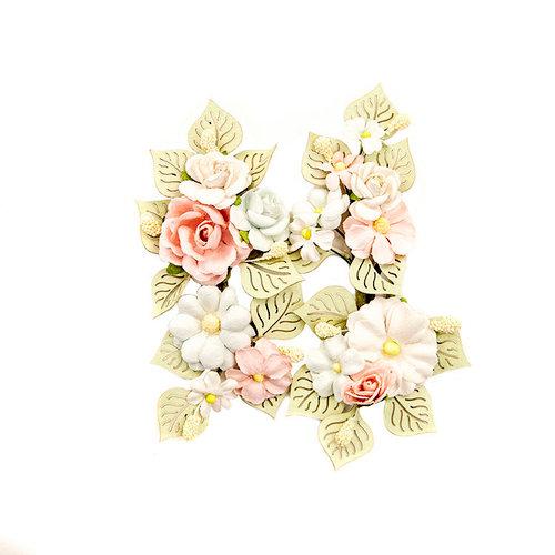 Prima - Poetic Rose Collection - Flower Embellishments - Poetic Symphony