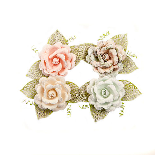 Prima - Poetic Rose Collection - Flower Embellishments - Untold Stories