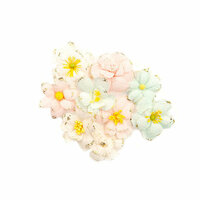 Prima - Poetic Rose Collection - Flower Embellishments - Sweet Elegance