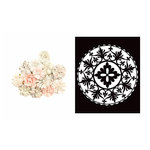 Prima - Poetic Rose Collection - Flower Embellishments - Love Composition