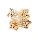 Prima - Pretty Pale Collection - Flower Embellishments - Organic Elegance