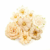Prima - Pretty Pale Collection - Flower Embellishments - Honeycomb