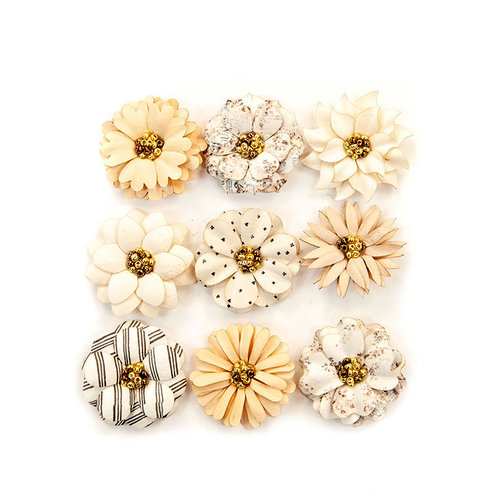 Prima - Pretty Pale Collection - Flower Embellishments - Sweet Species