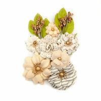 Prima - Pretty Pale Collection - Flower Embellishments - Light Landscape