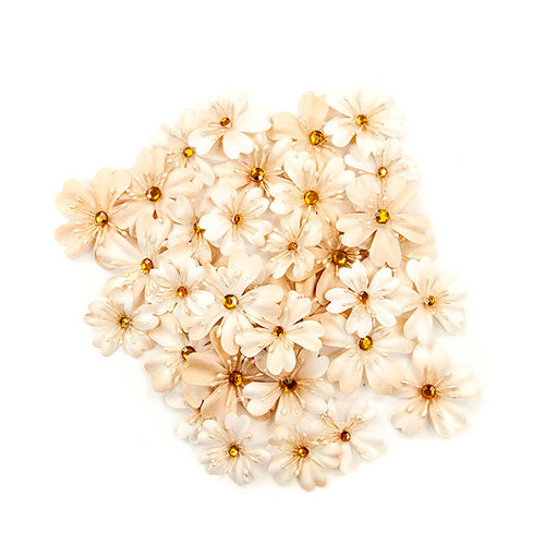 Prima - Pretty Pale Collection - Flower Embellishments - Meadows