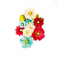 Prima - Midnight Garden Collection - Flower Embellishments - Nocturnal