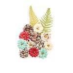 Prima - Midnight Garden Collection - Flower Embellishments - Secret Garden