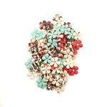 Prima - Midnight Garden Collection - Flower Embellishments - Twilight