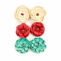 Prima - Midnight Garden Collection - Flower Embellishments - Midnight Signals