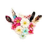 Prima - Midnight Garden Collection - Flower Embellishments - Dark Romance