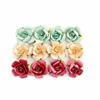Prima - Midnight Garden Collection - Flower Embellishments - In The Dark