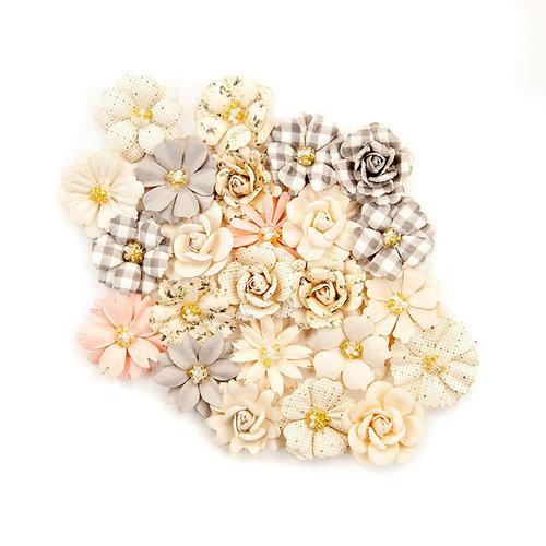 Prima - Spring Farmhouse Collection - Flower Embellishments - Our Farmhouse