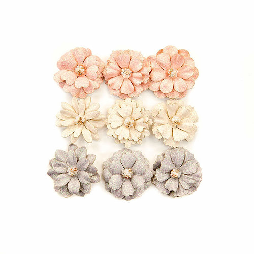 Prima - Spring Farmhouse Collection - Flower Embellishments - Spring Beauties