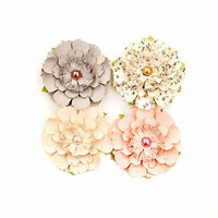 Prima - Spring Farmhouse Collection - Flower Embellishments - Heart and Home