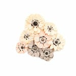 Prima - Spring Farmhouse Collection - Flower Embellishments - Simplify