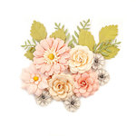 Prima - Spring Farmhouse Collection - Flower Embellishments - Everyday Beauty