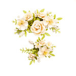 Prima - Spring Farmhouse Collection - Flower Embellishments - Humble and Kind