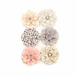 Prima - Spring Farmhouse Collection - Flower Embellishments - Blessings