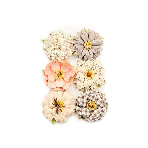 Prima - Spring Farmhouse Collection - Flower Embellishments - Farmhouse Delight