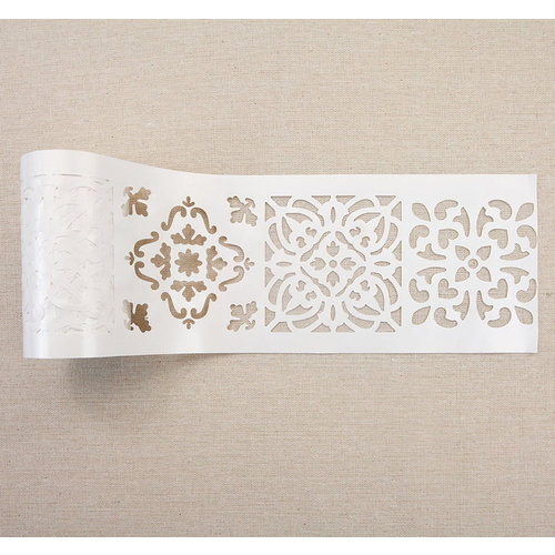 Re-Design - Stick and Style Stencil Roll - Casa Blanca Tile
