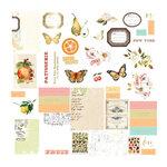 Prima - Fruit Paradise Collection - Ephemera with Foil Accents