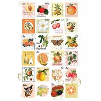 Prima - Fruit Paradise Collection - Postage Stamp Stickers