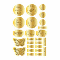 Prima - Fruit Paradise Collection - Embossed Stickers