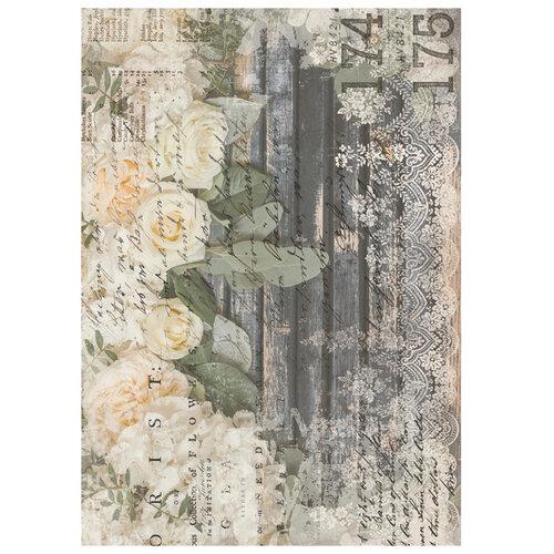 Re-Design - Transfer - White Fleur