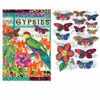 Re-Design - Transfer - Boho Bird Butterfly