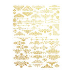 Prima - Re-Design Collection - Gold Transfer - Gilded Ornate Flourishes