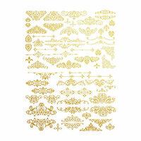 Re-Design - Gold Transfer - Gilded Ornate Flourishes