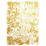 Prima - Re-Design Collection - Gold Transfer - Gilded Distressed Wall