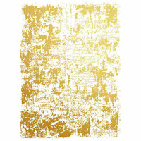 Re-Design - Gold Transfer - Gilded Distressed Wall