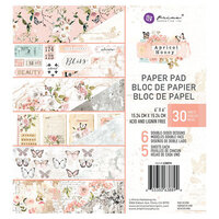 Prima - Apricot Honey Collection - 6 x 6 Paper Pad
