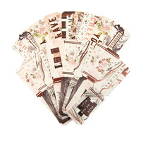 Prima - Apricot Honey Collection - Embellishments - Tickets with Foil Accents