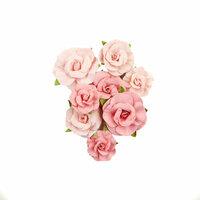 Prima - Fruit Paradise Collection - Flower Embellishments - Strawberries & Cream