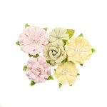 Prima - Fruit Paradise Collection - Flower Embellishments - Citrus Twist