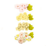 Prima - Fruit Paradise Collection - Flower Embellishments - Lime Peel