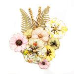 Prima - Fruit Paradise Collection - Flower Embellishments - Lemon Lime