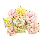 Prima - Fruit Paradise Collection - Flower Embellishments - Toronja