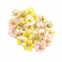 Prima - Fruit Paradise Collection - Flower Embellishments - Kiwi Lime
