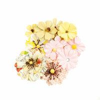 Prima - Fruit Paradise Collection - Flower Embellishments - Sunset Peach