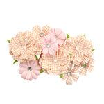 Prima - Fruit Paradise Collection - Flower Embellishments - Guava Nectar