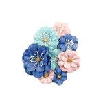 Prima - Golden Coast Collection - Flower Embellishments - Manhattan