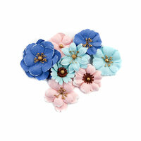 Prima - Golden Coast Collection - Flower Embellishments - Ocean Pier