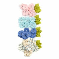 Prima - Golden Coast Collection - Flower Embellishments - Del Mar