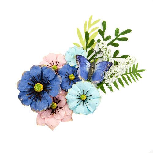 Prima - Golden Coast Collection - Flower Embellishments - Sunset Beach
