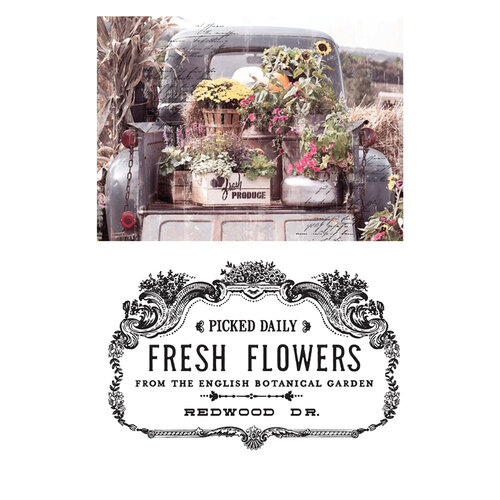 Re-Design - Transfer - Fresh Flowers