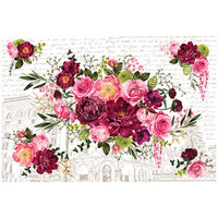 Re-Design - Decor Transfers - Royal Burgundy