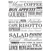 Re-Design - Decor Transfers - Delicious Menu